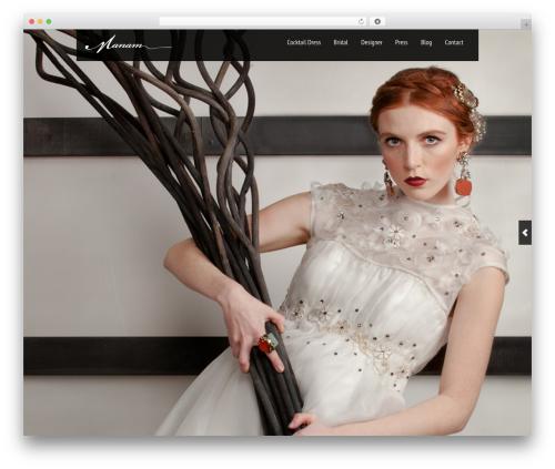 Black Label top WordPress theme - manam.ca
