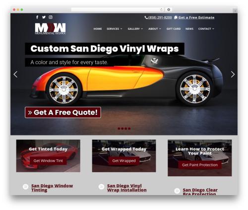 Divi top WordPress theme - monumentalworkx.com