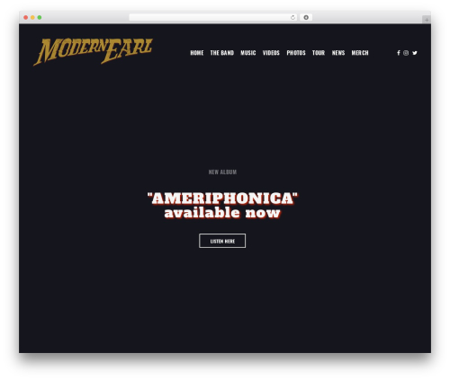 Revolution WP template - modernearl.com