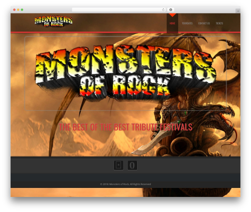 Theme WordPress D5 Business Line Extend - monstersofrock.nl