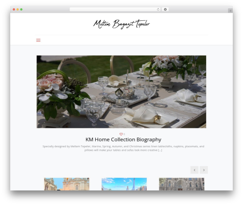 WordPress theme Betheme - meltembayazittepeler.com