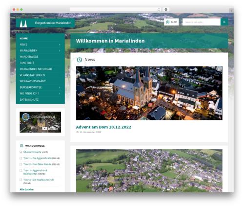 WordPress theme TownPress - marialinden.de