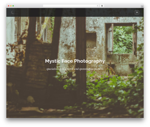 Lumos WordPress gallery theme - mysticface-photography.com
