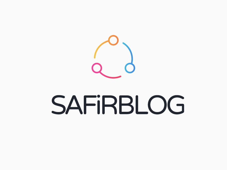 Safirblog WordPress blog template