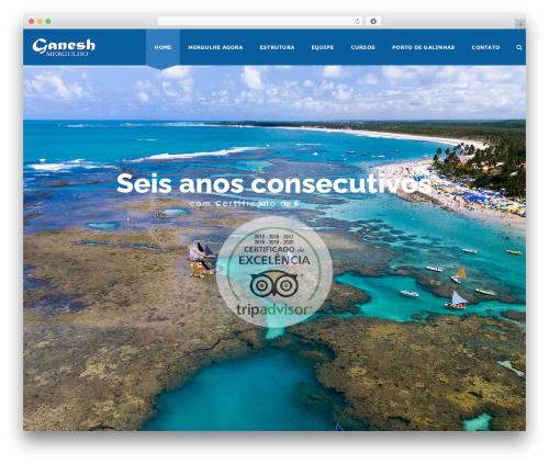 Template WordPress Veda - mergulhoganesh.com.br