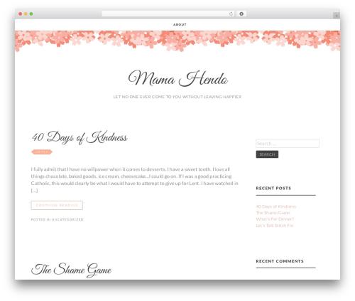 Theme WordPress Germaine - mamahendo.com