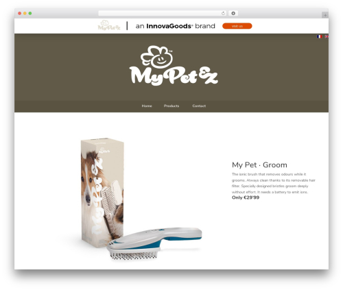 WordPress theme A_B - mypetgroom.com