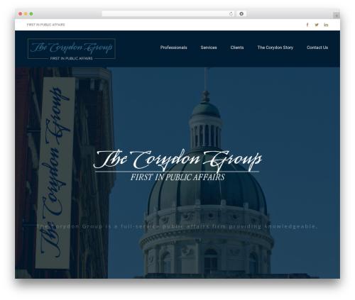 Avada WordPress template for business - thecorydongroup.com
