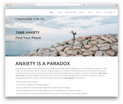 Enfold best WordPress theme - pagerutledge.com