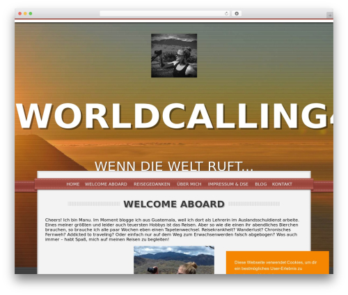 WordPress theme Impress - worldcalling4me.com
