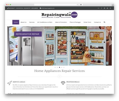 Adama theme WordPress - repairingwala.com