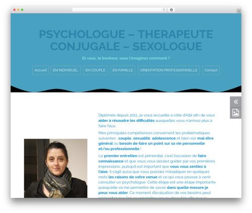 Roda WordPress template free - rolland-psychologue-albi.com