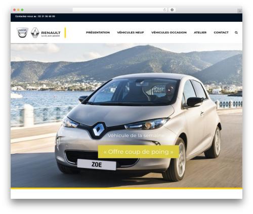 Theme WordPress Car Dealer Ignition - renault-evrecy.com