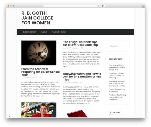 timagazine WordPress news theme - rbgothijaincollege.com