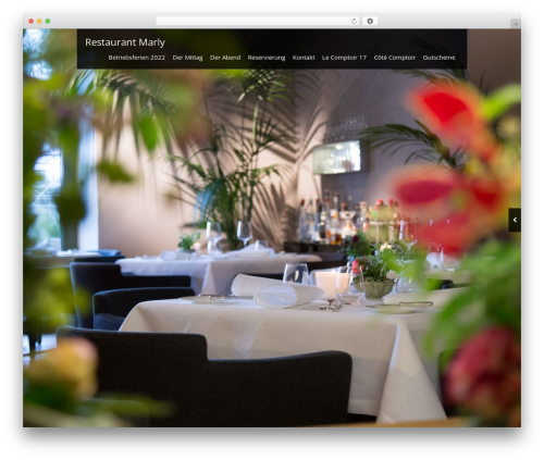 WP template Black Label - restaurant-marly.com
