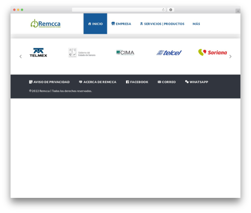 WP template Globaly - remcca.com