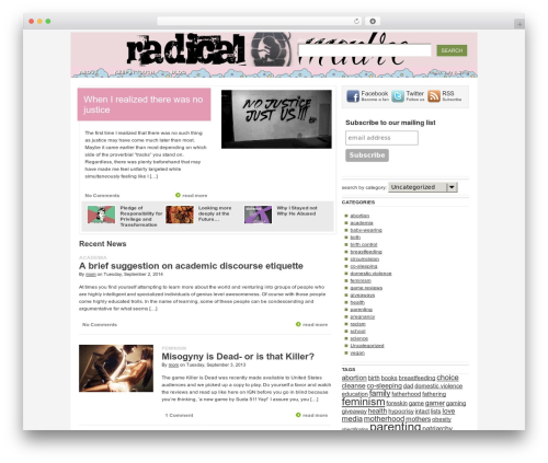WordPress my-pinterest-badge plugin - radicalmadre.com
