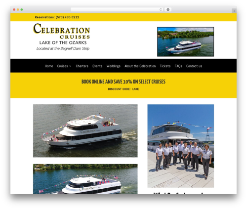 Divi WordPress theme - cruiselakeoftheozarks.com
