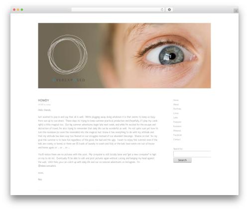 ProPhoto WordPress gallery theme - rebeccamudrick.com