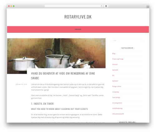 Sela best free WordPress theme - rotarylive.dk