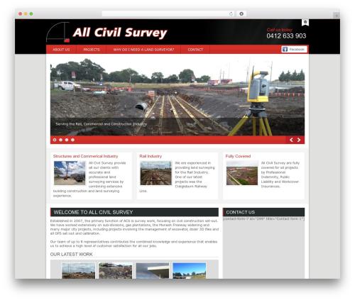 Theme WordPress ACS - allcivilsurvey.com