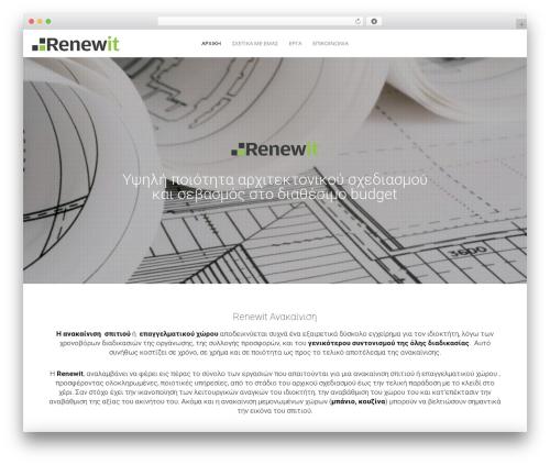 WordPress theme Movedo - renewit.gr