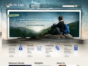 bethelight WordPress template