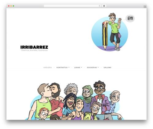 Dara template WordPress free - irribarrez.info