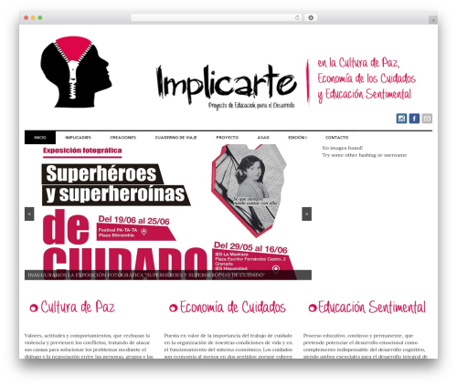 laveo free WordPress theme - implicarte.org