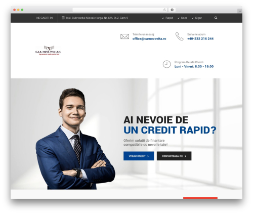 SaturnThemes FinanceBank WordPress theme - imprumuturicar.ro