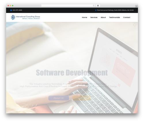 Theme WordPress UnfinityPlus - internationalconsultgroup.com