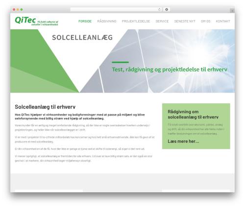 WordPress template Megalith - qitec.dk
