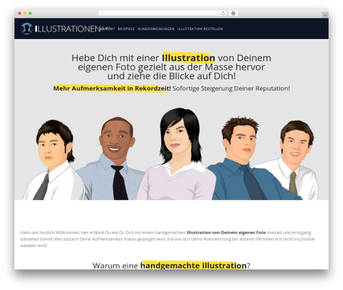 WP theme Konsulting - illustrationen4you.com