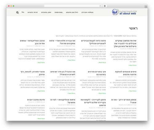 Wipi Theme WordPress theme - internetlife.co.il