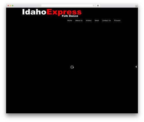 WordPress theme Black Label - idahoexpress.org