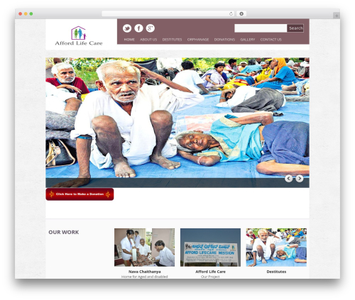 Yasmin premium WordPress theme - affordlifecare.org