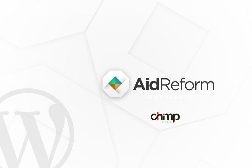 AidReform WordPress photo theme