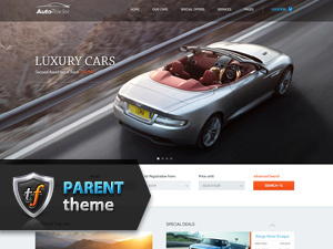 AutoTrader Parent best WordPress template
