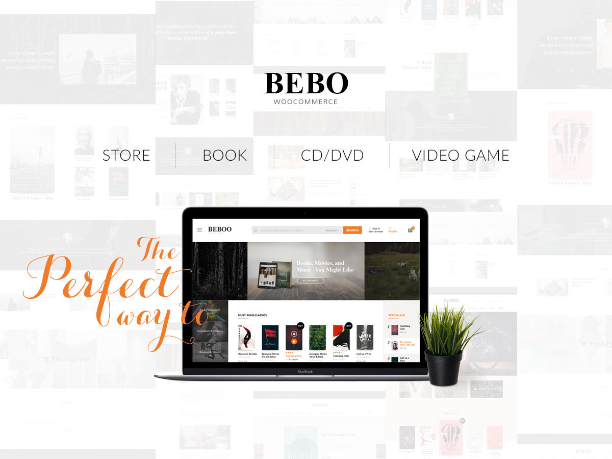 BeboStore WordPress shop theme