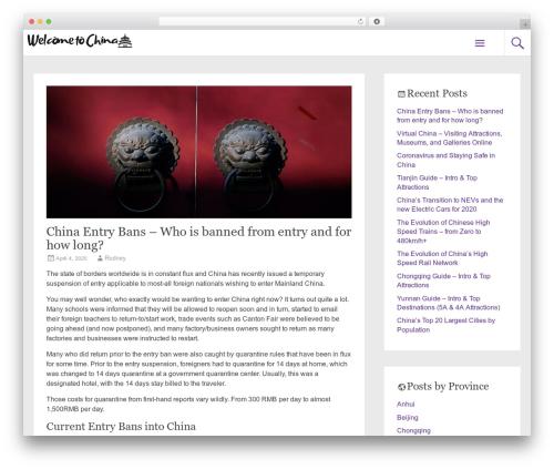 Free WordPress Easy Custom Auto Excerpt plugin - welcometochina.com.au