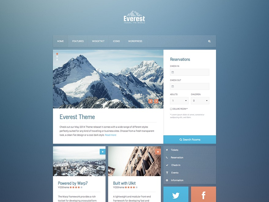 Best WordPress theme Everest