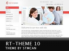 Best WordPress theme RT-Theme 10