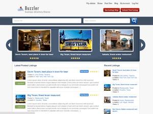 Buzzler company WordPress theme