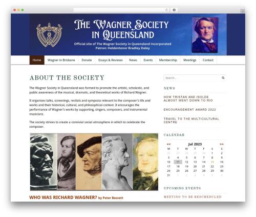 Free WordPress Slick Sitemap plugin - wagnerqld.com.au