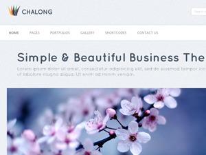 Chalong business WordPress theme