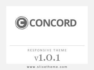 Concord template WordPress
