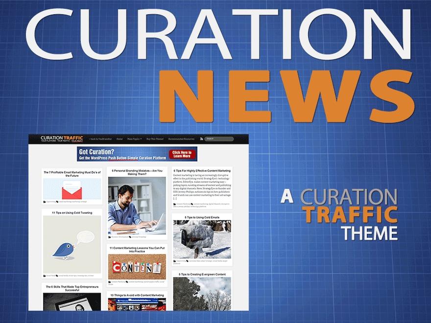 Curation News WordPress news theme