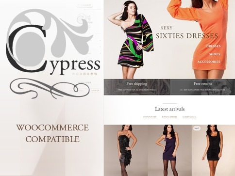 Cypress best WooCommerce theme
