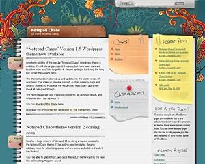 Desktop Chaos top WordPress theme
