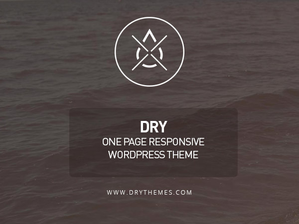 Dry WP WordPress portfolio theme